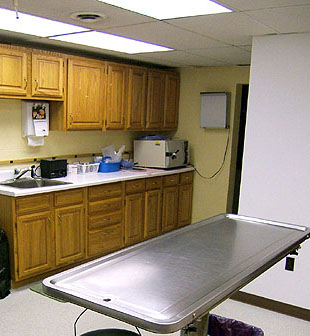 Selinsgrove Vet Hospital Exam Room